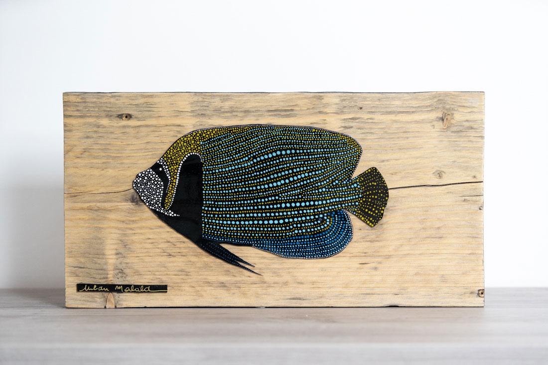 tableaux en bois - poisson