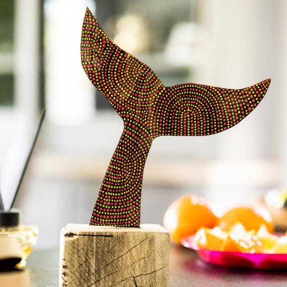 trophée baleine